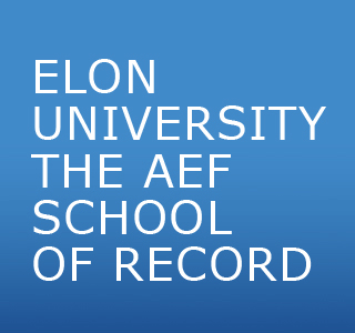 elon university AEF school of record