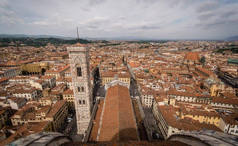 walkable city florence