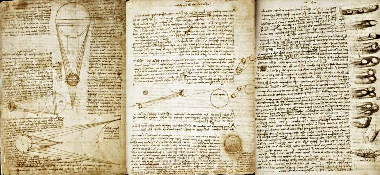 The Codex Leicester Leonardo da Vinci