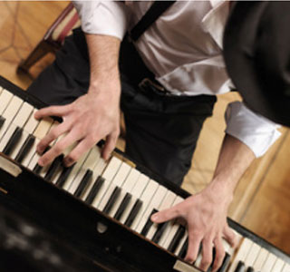 Modern jazz piano  course in Florence Italy